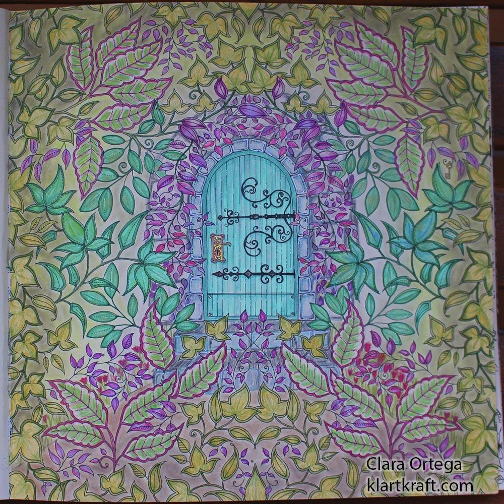 Secret Garden Johanna Basford Clara Ortega Laberinto4 Ponlearte